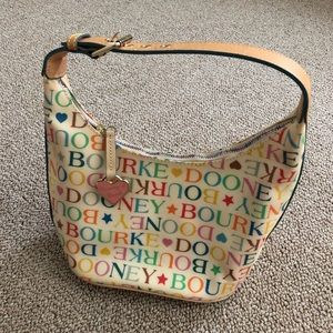 Dooney & Bourke Multicolor Logo Purse Handbag